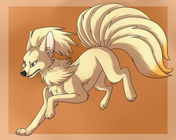 Ninetales by Cocotato