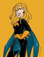 Batgirl: Goldstar by msciuto