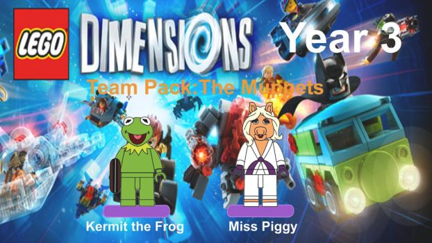 Lego Dimensions Muppets by EthanTavitas