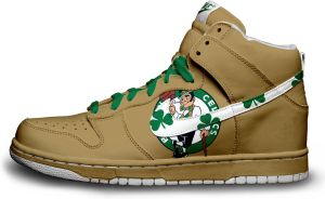 Nike Dunk: Boston Celtics V.3 by itsmonotune