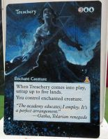 Magic the Gathering Alteration: Treachery 10/22 by Ondal-the-Fool