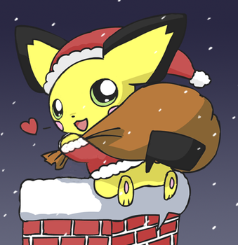 Coming to a chimney near you by pichu90