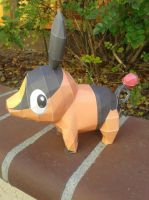 Tepig Papercraft by Amber2002161