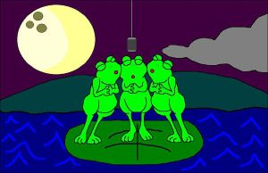 DGSH - Singing Frogs by The-DCE