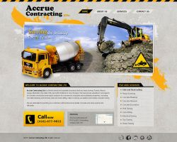 Accrue Contracting by MAbeer