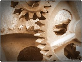rusted gears by ThauChengCha