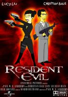 Resident Evil Simpson by SaephireArt
