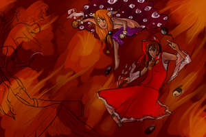 WIP -- Touhou Fight by static-mcawesome
