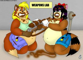 Weapons Testing by gokutothez