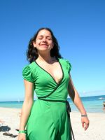 caroldie in varadero beach 2 by tomegatherion
