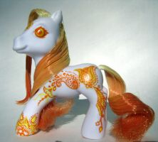 Orange Henna Pony by trillions