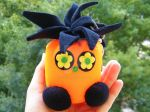 Punky Monster Doll Key Chain Bag Accessories by petyaivanova