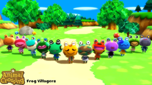 (MMD Model) Frog Villagers Download by SAB64
