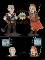 Assassin Bros! by Tufsanisthecat