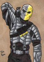 Deathstroke ATC by ibroussardart