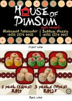 House of DimSum: Business card by Reysuke-chan