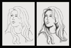 Katchoo Sketches WIP by donnaDomenitzo