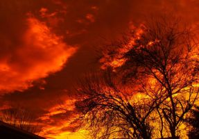 Sky on fire by Oh-life7