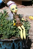 Beelinda B. Hive Monster High CAM Bee by mermaid-splash