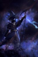 Black Mage Sketch by ChrisBjors