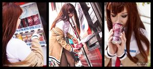 Kurisu Steins:Gate Dr Pepper by Lumis-Mirage