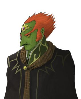 Ganondorf is angry. by Pegnose