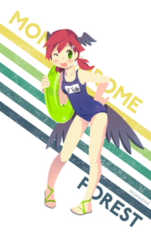 Summer Chicken by CaineScroll
