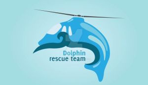 Dolphin rescue team by Viswaj