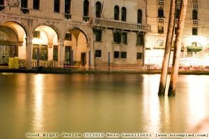 Good Night Venice _36_ by Brompled