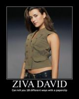 Ziva David by strikesolo1