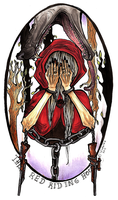 The Red Riding Hood by Varjotuuli