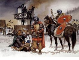 Roman Cav. German Front 230 AD by Fall3NAiRBoRnE