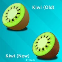 Kiwi Icon NEW by Akarui-Japan