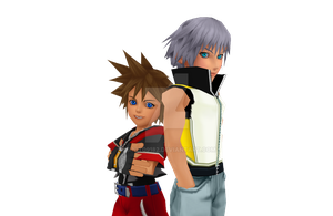 Kingdom Hearts DDD by danit09182