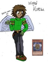 Winged Kuriboh Personification male version  by missjumpcity