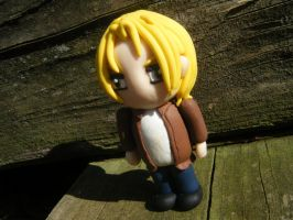 Bryce from Subsapien Polymer Clay Chibi (Angled) by LadyElasa
