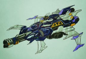BFTE GALVATRON jet mode by kishiaku