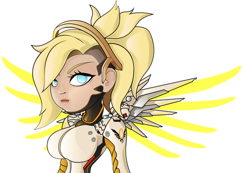 Mercy From Overwatch by HaruInkisitor