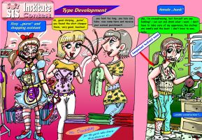 Forced crossdressing contest by sandybelldf by betternotlookme