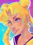 Sailor Moon by mareefletcher