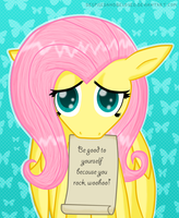 Message from Fluttershy by DespisedAndBeloved