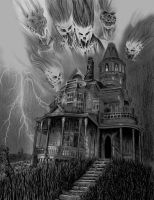 The Haunted House by waveart
