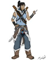 Assassin's Korra by 1701Enterprises