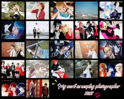 My work as cosplay photographer 2012 by mellysa