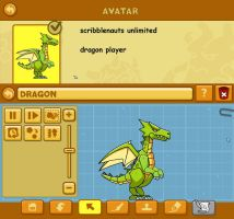 scribblenauts unlimited: dragon player by Catty-Mintgum