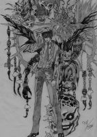 Death Note :3 by Clauditzasng