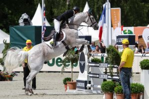 3DE Show Jumping Phase Stock 108 - Taking Off by LuDa-Stock
