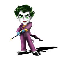 Joker Chibi by ExoroDesigns
