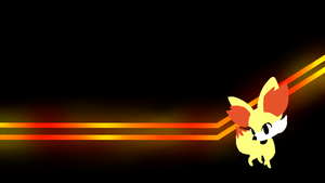 . Pokemon Wallpapers . Fennekin . by Flows-Backgrounds