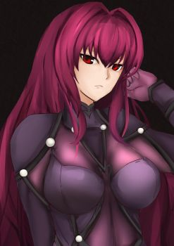 Scathach -Fate/GrandOrder by SeLaRZ